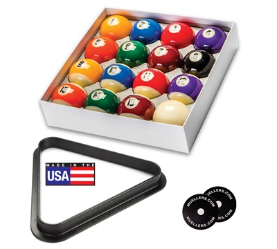 Commercial Ball Set w/ Triangle & Table Spots