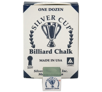 Spruce Silver Cup Billiard Chalk – Box/12