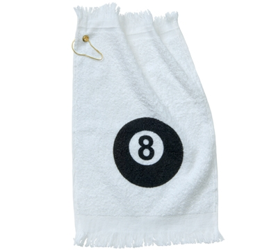 8 Ball Pool Hand Towel