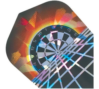 Rising Dartboard 2D/3D Flight