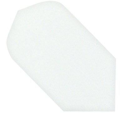 White Hard Poly Slim Flight