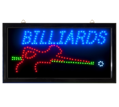 LED Sign Billiards
