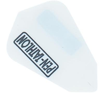 White Double-Thick Poly Pentathlon Lantern Flight