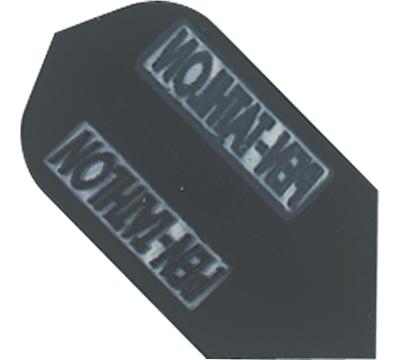 Black Double-Thick Poly Pen-tathlon Slim Flight