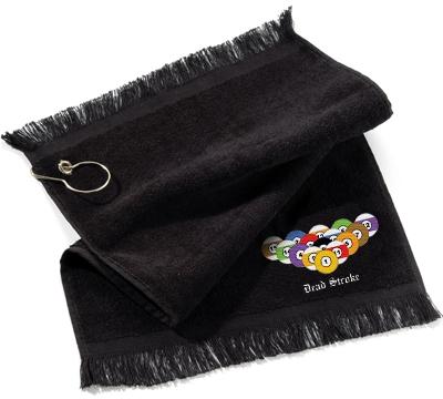 Dead Stroke Towel 8 Ball Rack