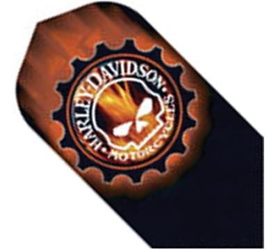 Harley-Davidson® Skull with Flames Slim Flight