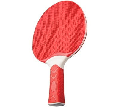 molded rubberized table tennis paddle