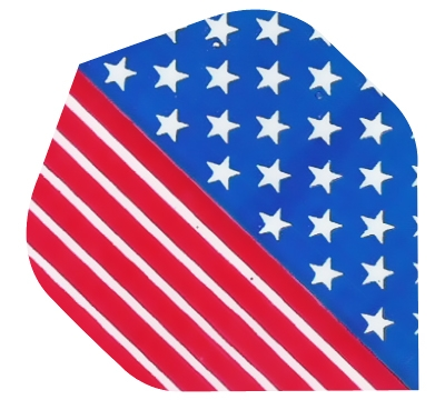 Stars & Stripes/US Flag Hard Poly Flight