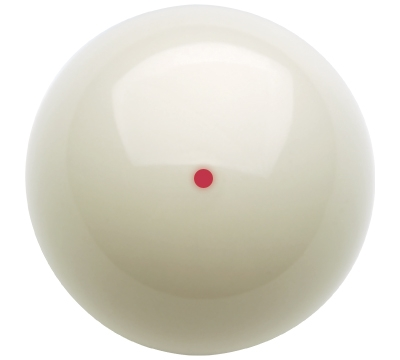 "2 1/4"" Red Dot Dynamo Belgian Aramith Ball"