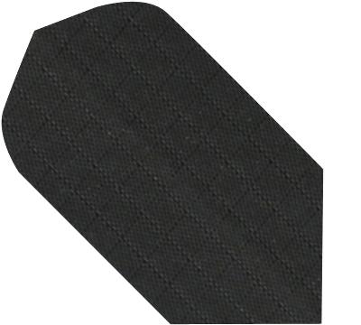 Black Nylon Rib-Stock Slim Flight