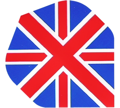 British Flag Hard Poly Flight