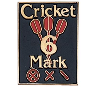 Cricket 6 Mark Pin