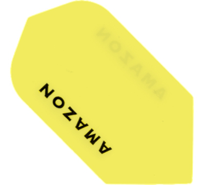 Neon Yellow Amazon Hard Poly Slim Flight