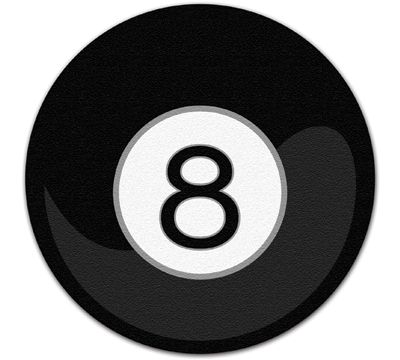 8-Ball Floor Mat