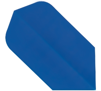 Blue Hard Poly Slim Flight