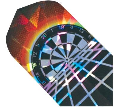 Rising Dartboard 2D/3D Slim Flight