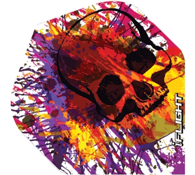 i-Flight Paint Skull Standard Flight