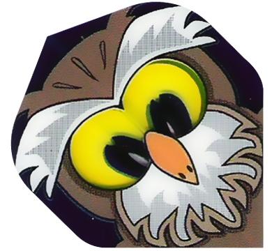 Owl Poly Met Flight