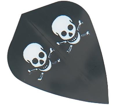 Skull & Crossbones Hard Poly Kite Flight