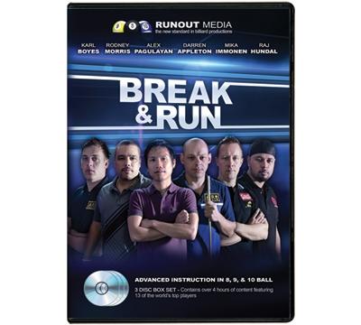 Break & Run 3-DVD Set