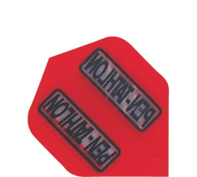 Red Double-Thick Poly Pentathlon Mini Flight