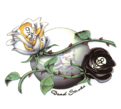 Dead Stroke Decal Pool Roses