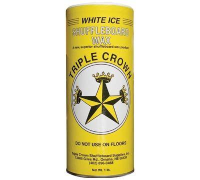 White Ice Shuffleboard Wax