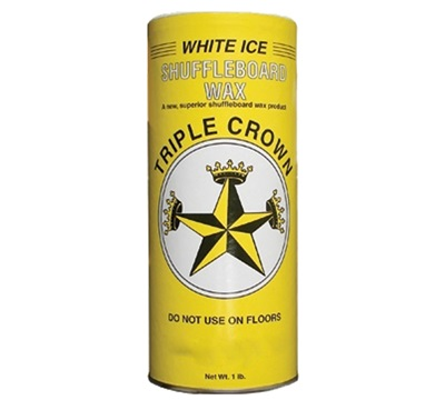 White Ice Shuffleboard Wax