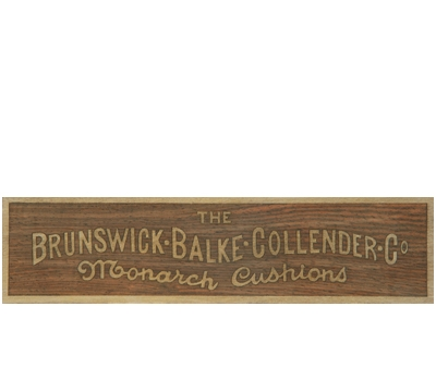 Wood Brunswick® Rail Plate 1912-1930