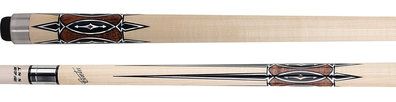 Cuetec Natural Inlay Series Cue – 13-723