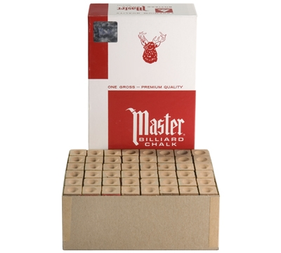 Gold Master Billiard Chalk – Box/144