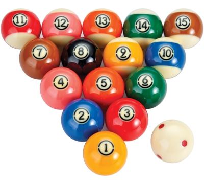 Aramith TV Tournament Pool Ball Set