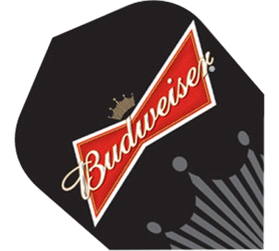 Budweiser® Bowtie/Crown Black Standard Flight