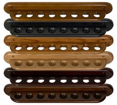 2-Piece Oak Wall Rack
