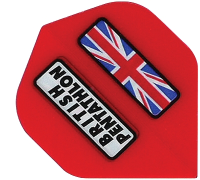 British Pentathlon Poly Standard Flight Red