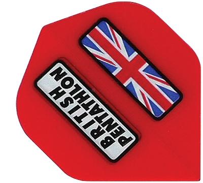 British Pentathlon Poly Standard Flight Red