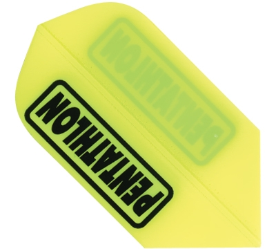 Pen-tathlon Poly Slim Neon Yellow Flight