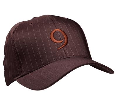 RT9 Brown Pinstripe Hat