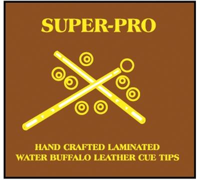 Super-Pro Laminated Cue Tip