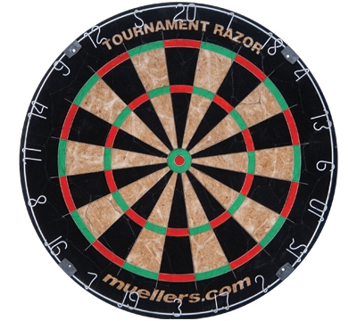 Tournament Razor Bristle Dartboard