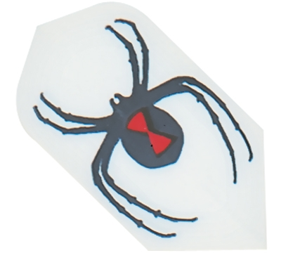 Black Widow Spider Hard Poly Slim Flight