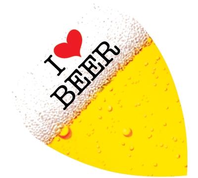 Poly Standard Kite 'I Love Beer' Flight