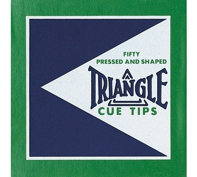 Triangle Cue Tips - 12.5mm