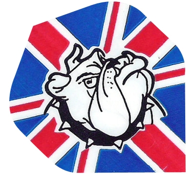 British Flag/Bulldog Hard Poly Flight