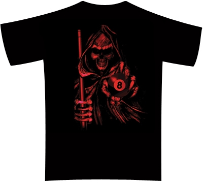 Dead Stroke Pool T-Shirt – Red Reaper
