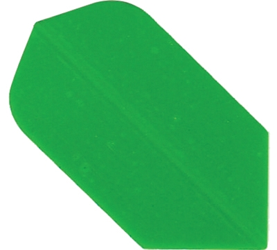 GREEN HARD POLY SLIM FLIGHT