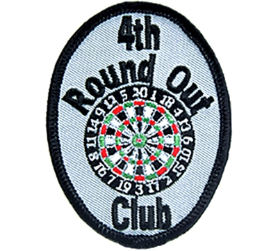 4th Round Out Club Patch