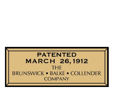 Brunswick 1912 Decal