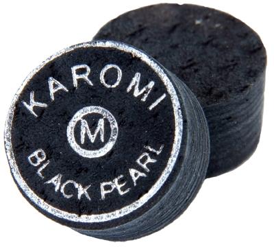 Karomi Black Pearl Laminated Cue Tip