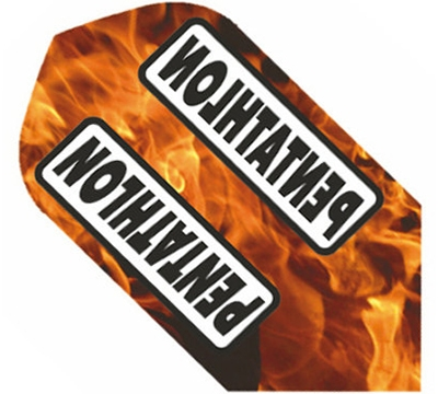 Pentathlon Poly Slim Flight - Flames